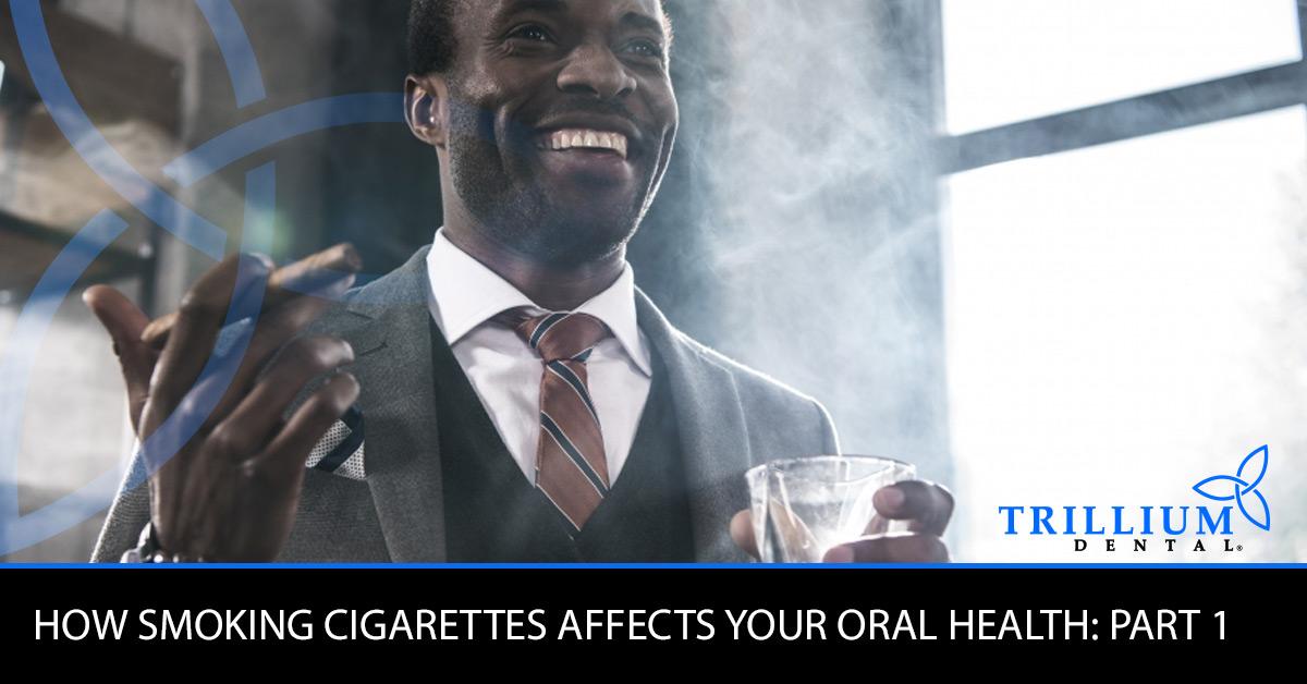smoking affect oral health